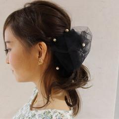 ヘアアレンジ ハーフアップ 大人かわいい 外国人風 ヘアスタイルや髪型の写真・画像