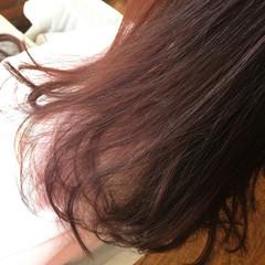 グラデーションカラー 秋 透明感 ベージュ ヘアスタイルや髪型の写真・画像