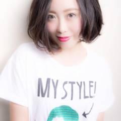 マルサラ モテ髪 ナチュラル 大人かわいい ヘアスタイルや髪型の写真・画像