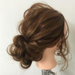 結婚式 編み込み ヘアアレンジ 二次会 ヘアスタイルや髪型の写真・画像