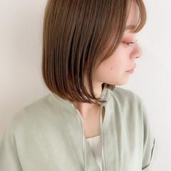 ワンカール ボブ 大人可愛い アンニュイほつれヘア ヘアスタイルや髪型の写真・画像