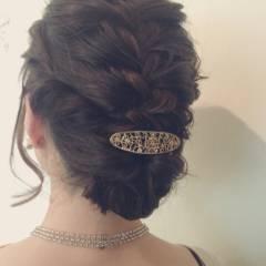 モテ髪 コンサバ ヘアアレンジ アップスタイル ヘアスタイルや髪型の写真・画像