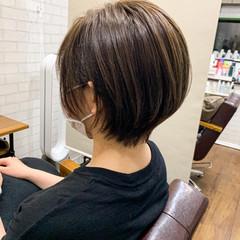 ショートボブ ウルフカット ショート ミニボブ ヘアスタイルや髪型の写真・画像