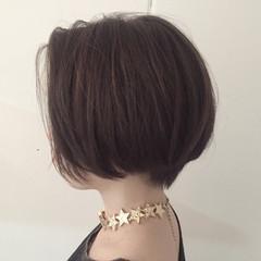 ショート ストリート 暗髪 ヘアスタイルや髪型の写真・画像
