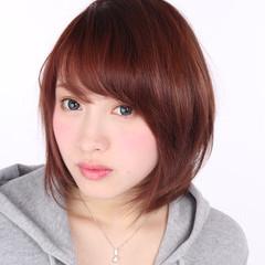 ストリート レイヤーカット ボブ 渋谷系 ヘアスタイルや髪型の写真・画像