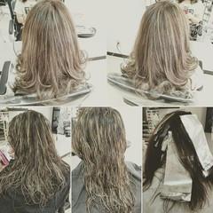 かっこいい セミロング エレガント 上品 ヘアスタイルや髪型の写真・画像