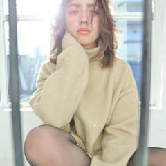 ピュア 大人女子 冬 小顔 ヘアスタイルや髪型の写真・画像