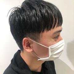 モード 刈り上げ メンズヘア オン眉 ヘアスタイルや髪型の写真・画像