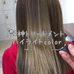 エレガント 髪質改善トリートメント 外国人風カラー トリートメント ヘアスタイルや髪型の写真・画像