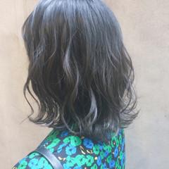 切りっぱなしボブ 外国人風カラー ボブ ナチュラル ヘアスタイルや髪型の写真・画像