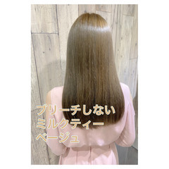 大人かわいい 透明感カラー 大人女子 デート ヘアスタイルや髪型の写真・画像