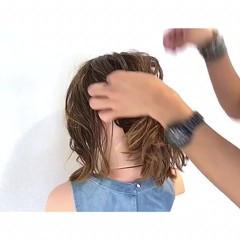 フェミニン ヘアアレンジ デート 女子会 ヘアスタイルや髪型の写真・画像