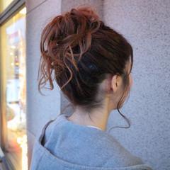 ヘアアレンジ 外国人風 大人女子 お団子 ヘアスタイルや髪型の写真・画像