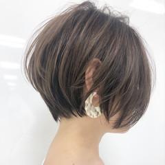 ハンサムショート ショート ショートヘア ミニボブ ヘアスタイルや髪型の写真・画像