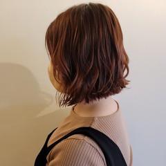 ヘアアレンジ ミニボブ 切りっぱなしボブ ガーリー ヘアスタイルや髪型の写真・画像