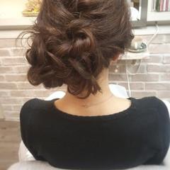 ヘアアレンジ 結婚式 デート ロング ヘアスタイルや髪型の写真・画像