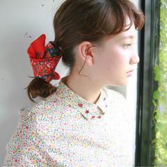 外国人風 ヘアアレンジ ロング フェミニン ヘアスタイルや髪型の写真・画像