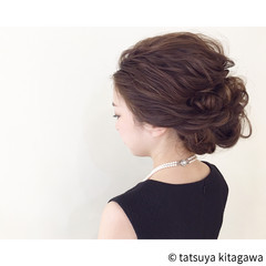 ゆるふわ ロング ヘアアレンジ 二次会 ヘアスタイルや髪型の写真・画像
