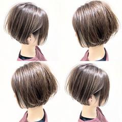 ショートボブ ミニボブ インナーカラー 髪質改善 ヘアスタイルや髪型の写真・画像