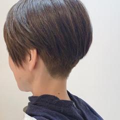 ショートヘア ベリーショート ショート ショートボブ ヘアスタイルや髪型の写真・画像