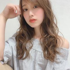 ロング フェミニン モテ髪 大人かわいい ヘアスタイルや髪型の写真・画像