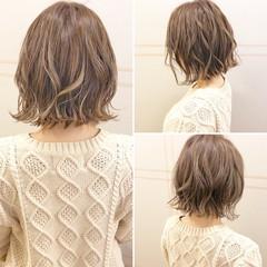 ヘアアレンジ アンニュイほつれヘア フェミニン ボブ ヘアスタイルや髪型の写真・画像