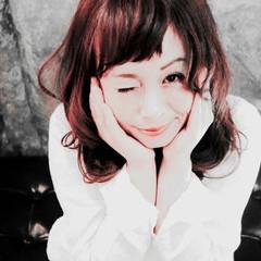 ピンク 愛され セミロング モテ髪 ヘアスタイルや髪型の写真・画像
