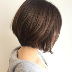 ナチュラル かわいい ショート 小顔 ヘアスタイルや髪型の写真・画像