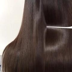ロング ヘアケア トリートメント 艶髪 ヘアスタイルや髪型の写真・画像