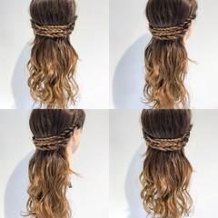アウトドア エレガント ヘアアレンジ ショート ヘアスタイルや髪型の写真・画像
