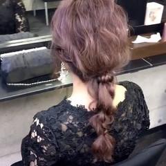 結婚式 卒業式 フェミニン ヘアアレンジ ヘアスタイルや髪型の写真・画像