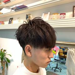 メンズカット メンズヘア ナチュラル メンズカラー ヘアスタイルや髪型の写真・画像