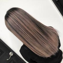 ストリート ピンクベージュ 3Dカラー 外国人風カラー ヘアスタイルや髪型の写真・画像