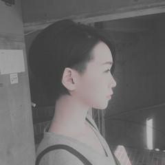 刈り上げ 大人女子 モード ショート ヘアスタイルや髪型の写真・画像