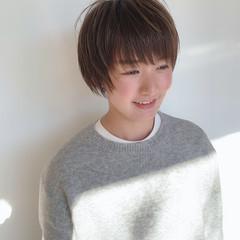 ウルフカット ショートヘア ミニボブ ショート ヘアスタイルや髪型の写真・画像