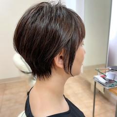 ショートヘア 前下がりヘア 前下がりショート 大人ショート ヘアスタイルや髪型の写真・画像