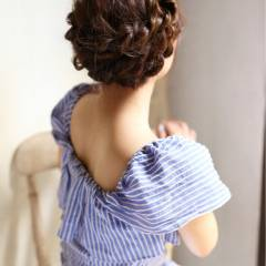 大人かわいい フェミニン モテ髪 夏 ヘアスタイルや髪型の写真・画像