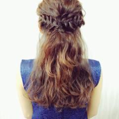 大人女子 ロング 大人かわいい 波ウェーブ ヘアスタイルや髪型の写真・画像