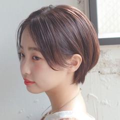 ヘアアレンジ ハンサムショート ひし形シルエット アンニュイほつれヘア ヘアスタイルや髪型の写真・画像