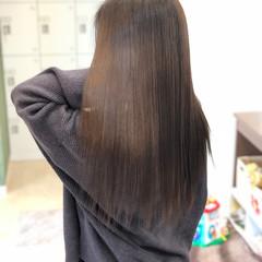 外国人風 エレガント ロング トリートメント ヘアスタイルや髪型の写真・画像