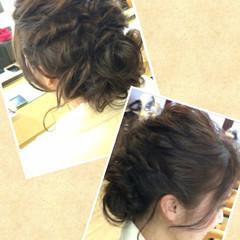 ゆるふわ 簡単ヘアアレンジ ヘアアレンジ 結婚式 ヘアスタイルや髪型の写真・画像