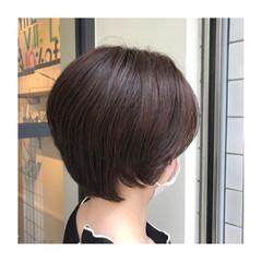 イルミナカラー ボブ 大人ヘアスタイル ナチュラル ヘアスタイルや髪型の写真・画像