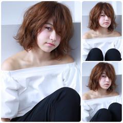 ボブ ピュア アッシュ 色気 ヘアスタイルや髪型の写真・画像