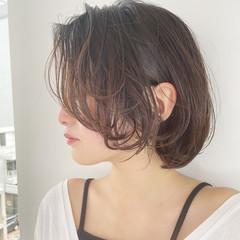 ショートヘア ミニボブ ウルフカット 切りっぱなしボブ ヘアスタイルや髪型の写真・画像