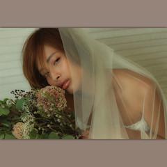 ヘアアレンジ 外国人風 結婚式 モード ヘアスタイルや髪型の写真・画像