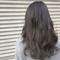 グラデーションカラー 暗髪 外国人風 アッシュ ヘアスタイルや髪型の写真・画像