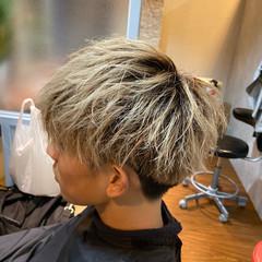 メンズ メンズカット ショート メンズマッシュ ヘアスタイルや髪型の写真・画像