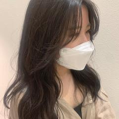 ナチュラル レイヤーカット 韓国風ヘアー 韓国 ヘアスタイルや髪型の写真・画像