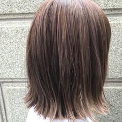 ラベンダー ラベンダーアッシュ ハイライト ストリート ヘアスタイルや髪型の写真・画像