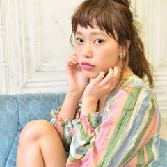 大人かわいい ヘアアレンジ フェミニン ガーリー ヘアスタイルや髪型の写真・画像